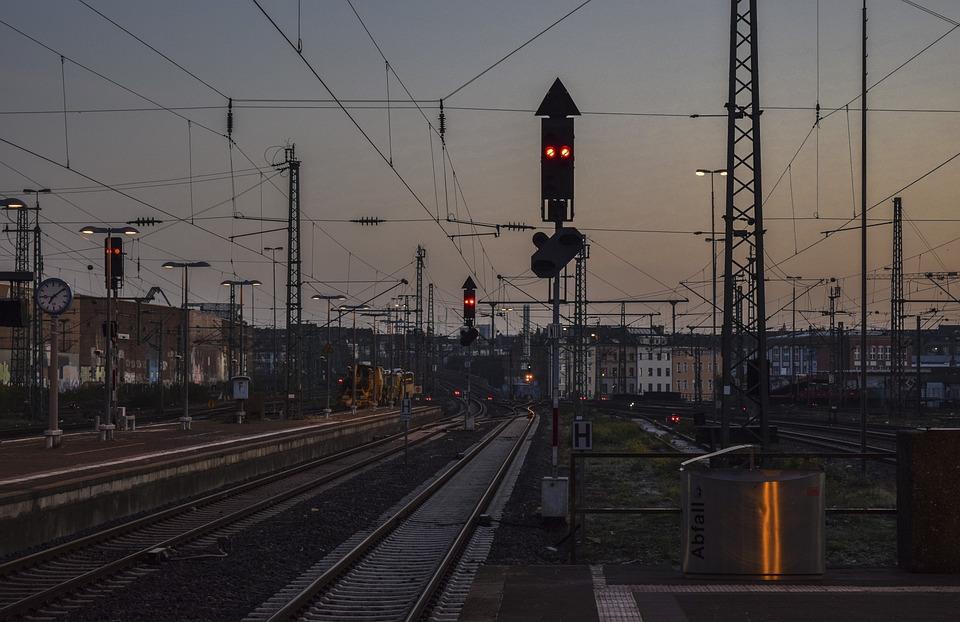 Railway Station, Train, Railway, Travel, Traffic