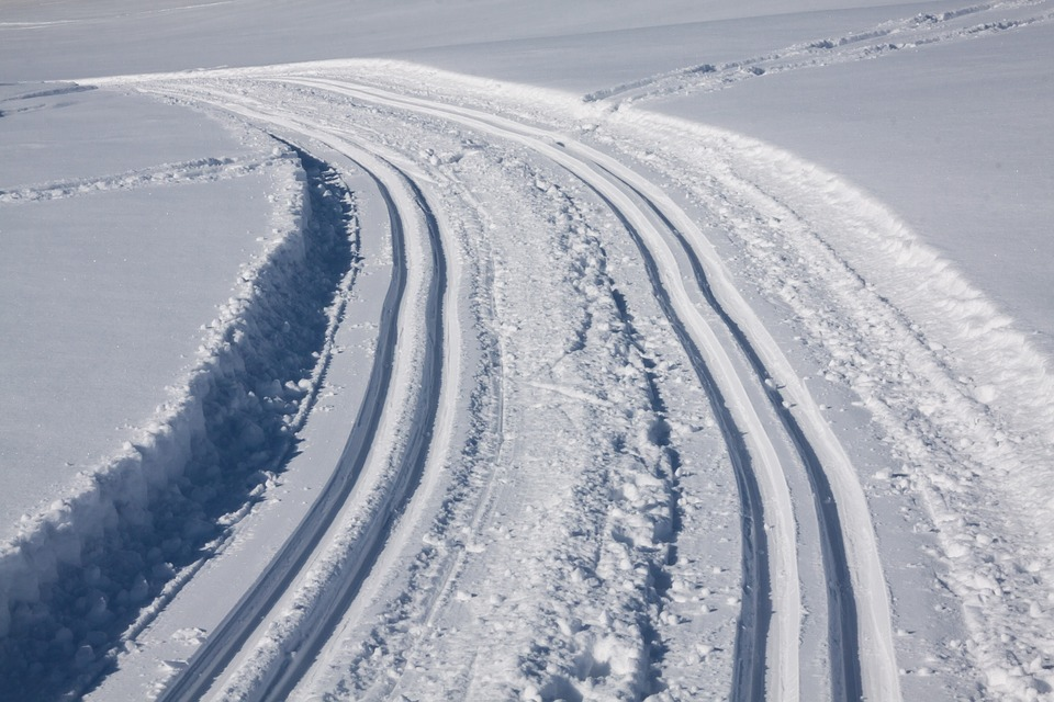 Trace, Cross Country Skiing, Trail, Ski Track