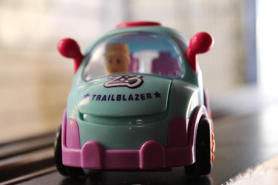 Toy, Car, Driver, Trailblazer