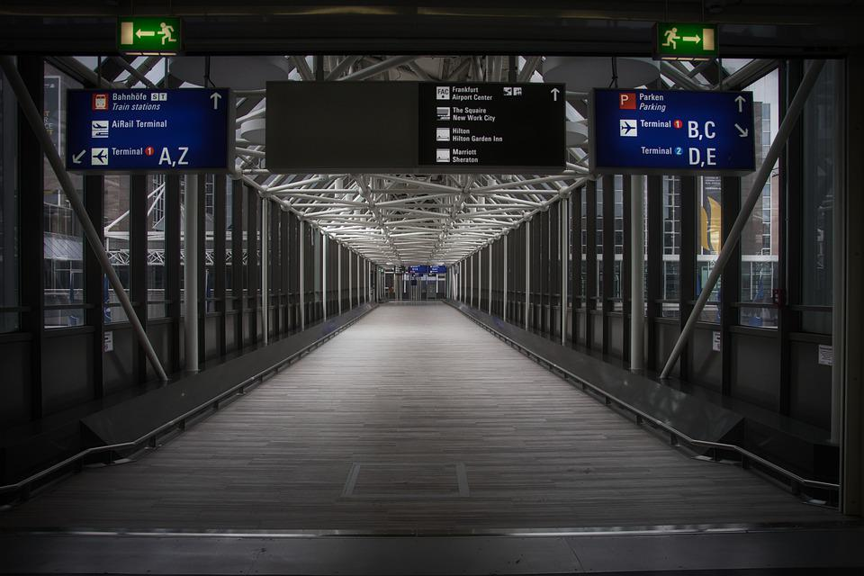 Train, Building, Airport, Indoors, Architecture, Street