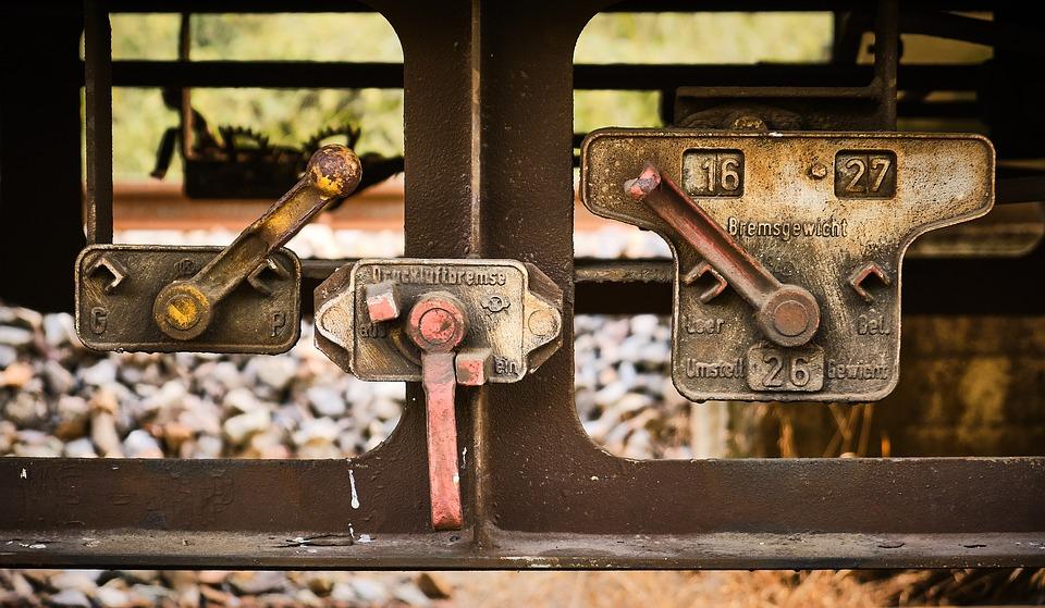 Lever, Brake, Hand Brake, Train, Dare, Wagon, Railway