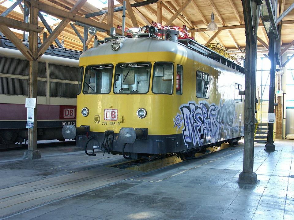 Locomotive, Train, Freilassing