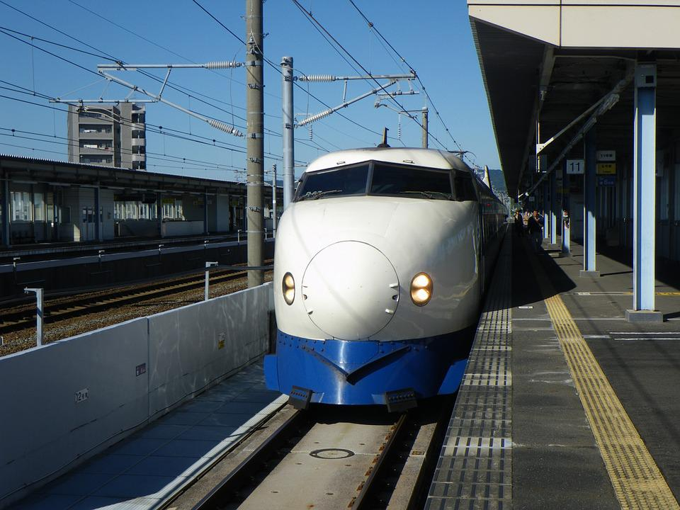 Japan, Bullet Train, Train, Hikari, Series 0, Nostalgic