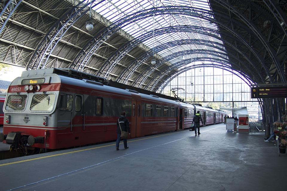 Jernbanetog, Transportation, Station, Travel, Train