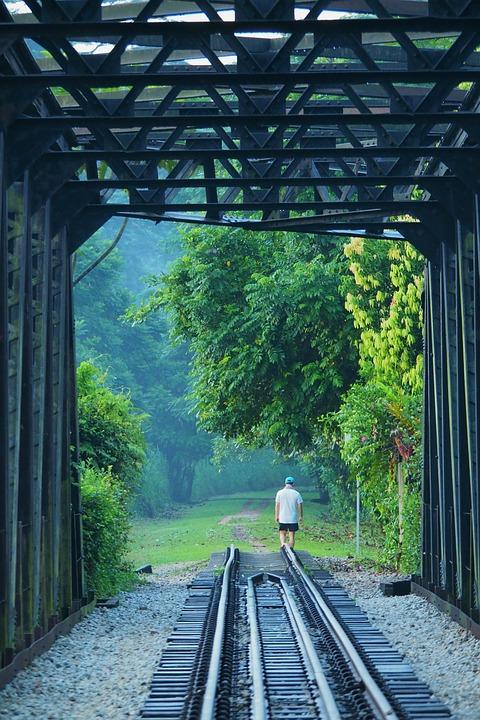 Railway, Train, Locomotive, Railroad Track