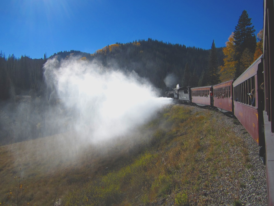 Train, Steam Engine, Locomotive