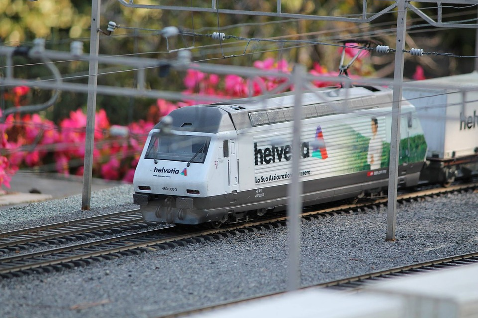 Model, Train, Swissminiatur, Melide, Switzerland