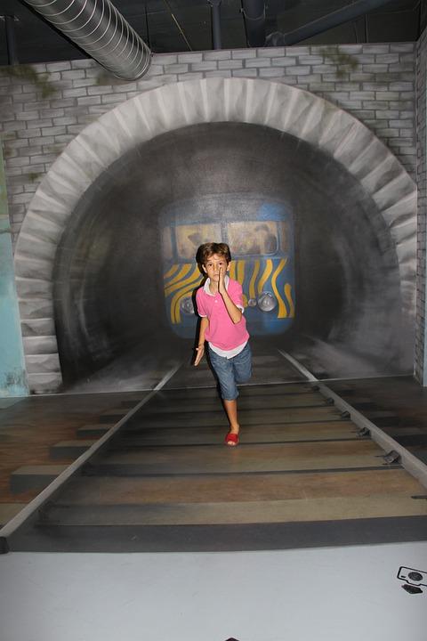 Museum, Delusion, Train, Lane, Train Tracks, Distance