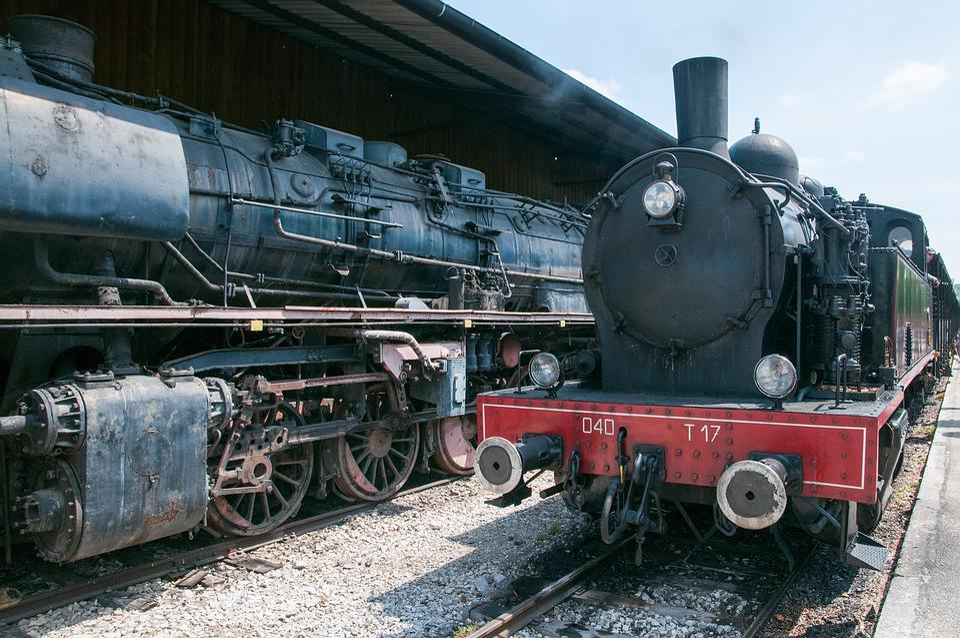 Train, Machine, Museum, Old, Transportation, Wheel