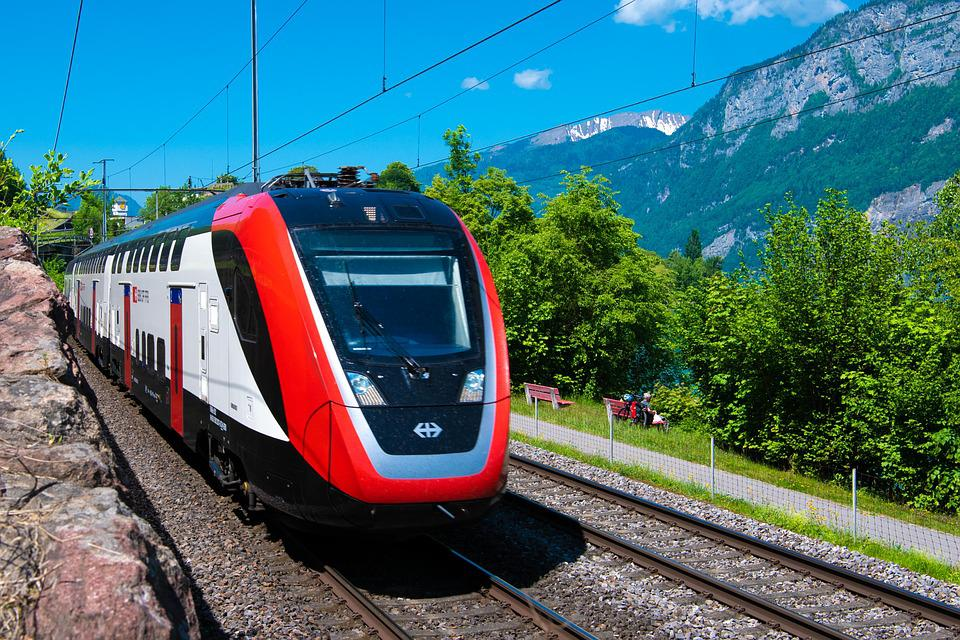 Passenger Train, Sbb, Train, Swiss Federal Railways