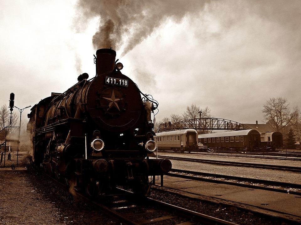 Locomotive, Rail, Transport, Train