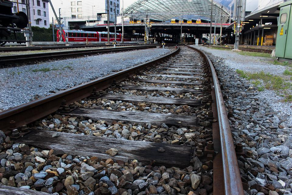 Rail, Stones, Railway Line, Railway, Train, Race Track