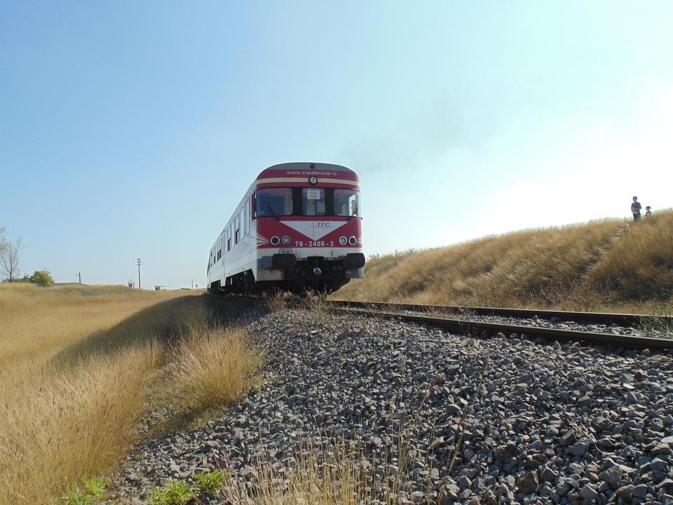 Train, Stones, Railroad
