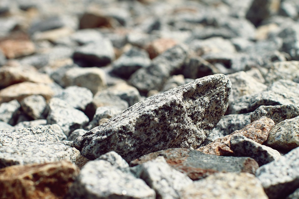 Rocks, Railway, Tracks, Railroad, Transportation, Train