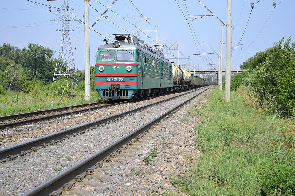 Railway, The Way, Rails, Train, Transport, Travel