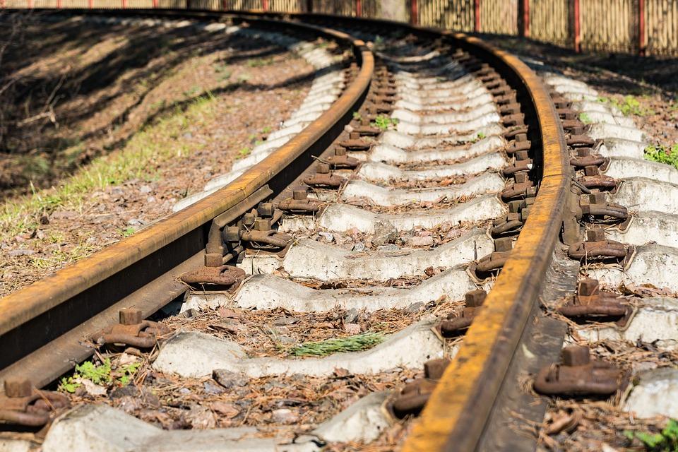 Narrow Gauge Railroad, Rails, Railways, Track, Train