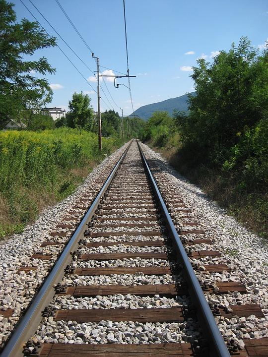 Gleise, Train, Seemed, Railway, Rail Traffic
