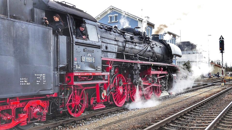 Train, Motor, Railway