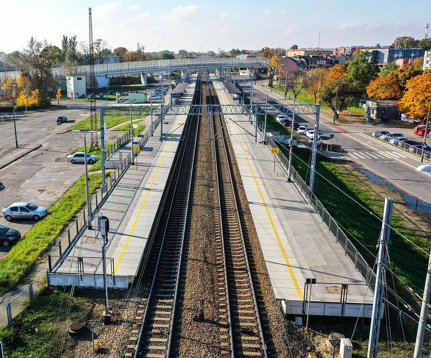 Station, Train, Train Tracks, Railway, Platform