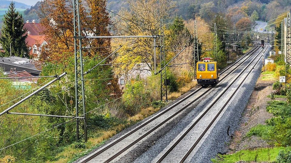 Train, Railway Line, Railway