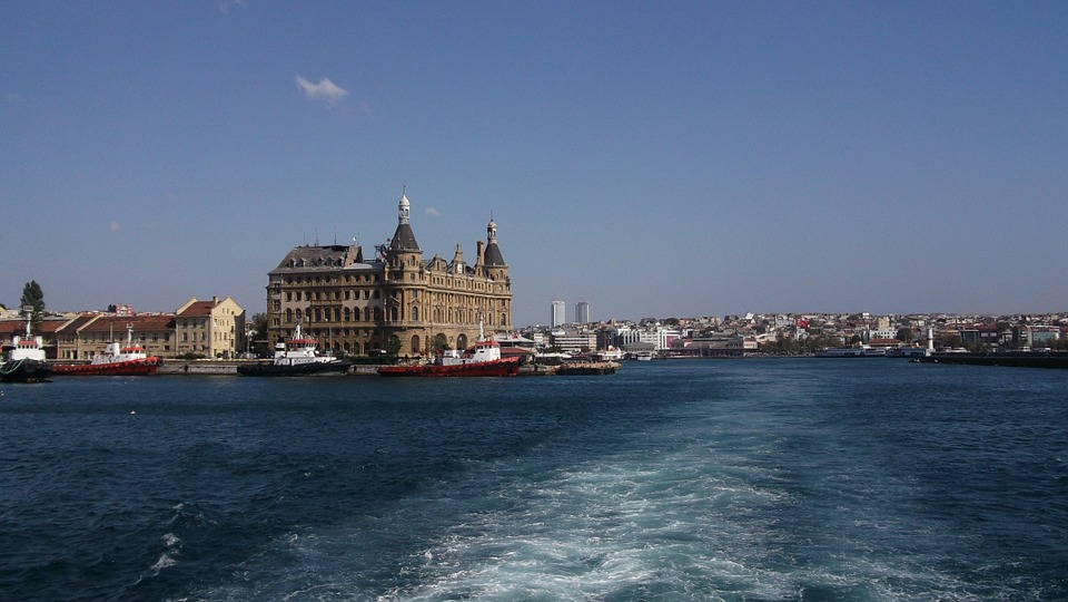 Istanbul, Station, Train, Railway Station, Railway