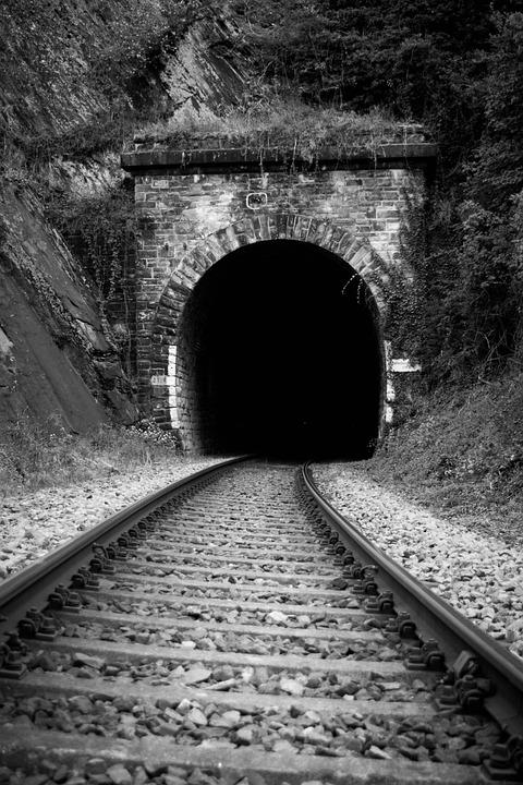 Railway, Train, Tunnel, Metro, Transport System, Seemed