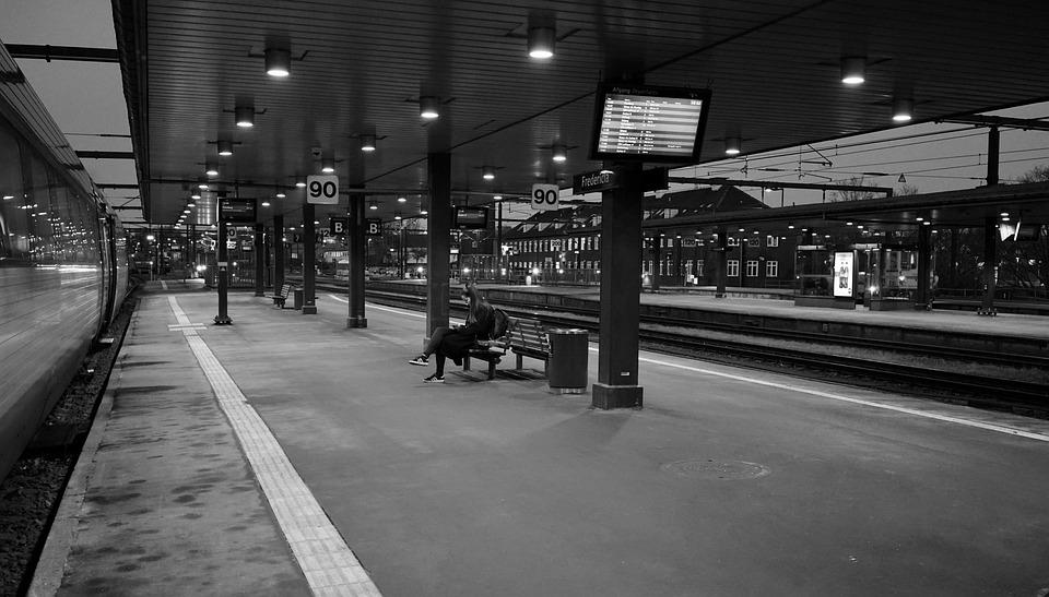 Platform, Wait, Railway Station, Stop, Train