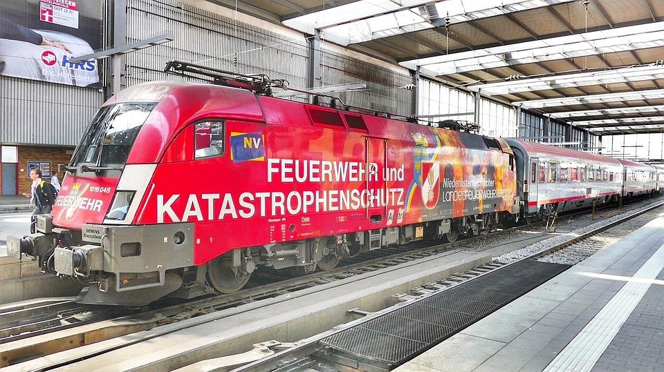 Train, Transport System, Station, Railway