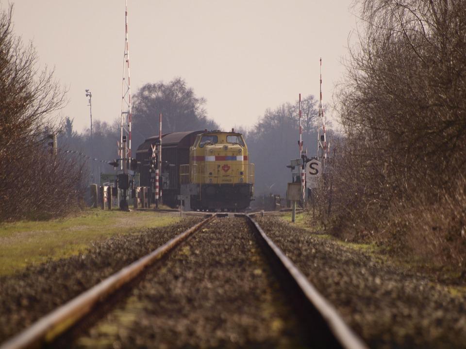 Train, Rails, Railway, Transport