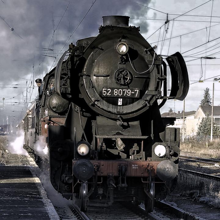 Steam Locomotive, Steam, Smoke, Locomotive, Train