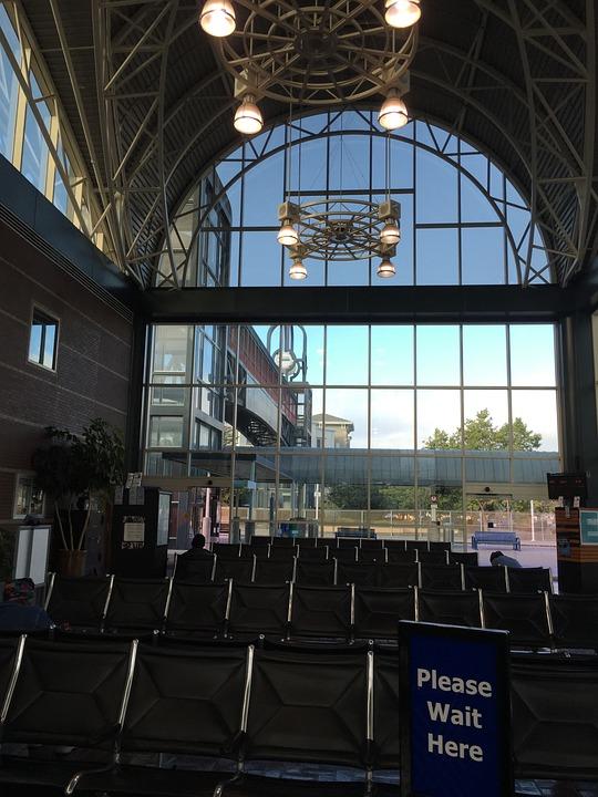 Train Station, Amtrak, Transportation, Station, Train