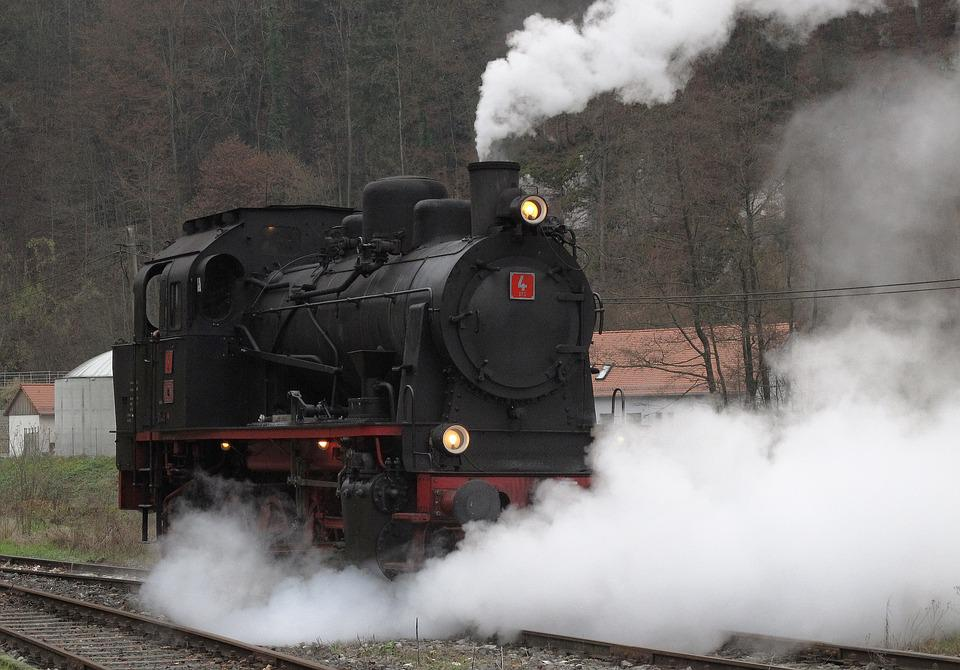 Steam Locomotive, Tank Locomotive, Museum, Train