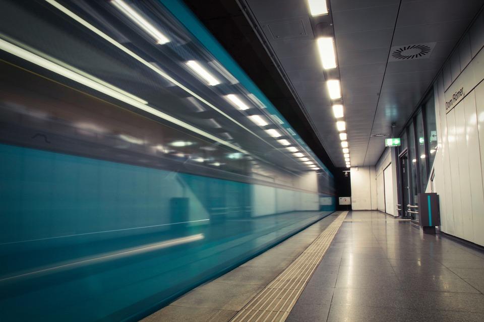Train, Tunnel, Light, Train Station, Subway, Station