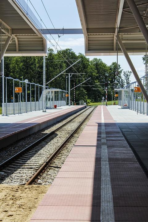 An, Train, Tracks, Airport, Lublin, Terminal, Tickets
