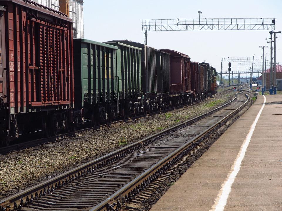 Railway, Cars, Train, Tovarnik