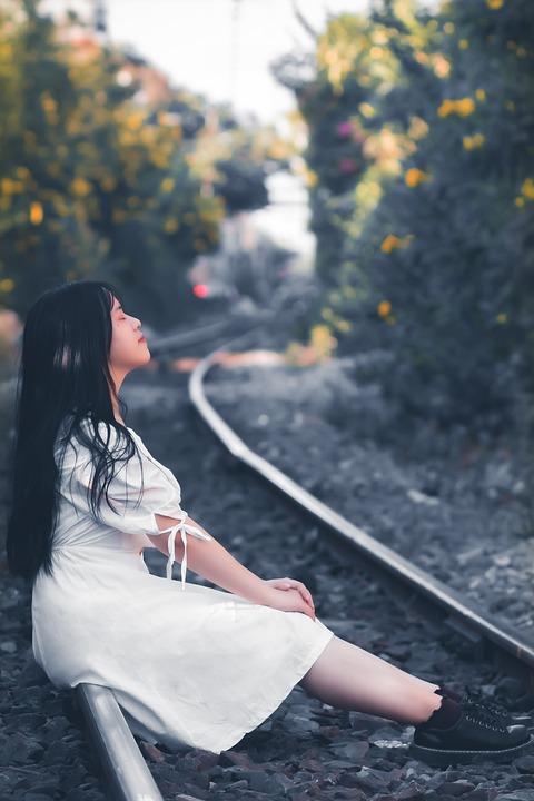 Girl, Sit, Sad, Train Tracks, Close Your Eyes, Blue Eye