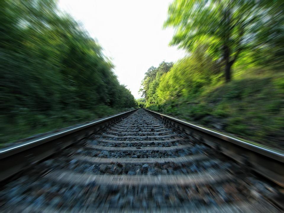 Rails, Railway, Railroad Tracks, Train Tracks, Tracks