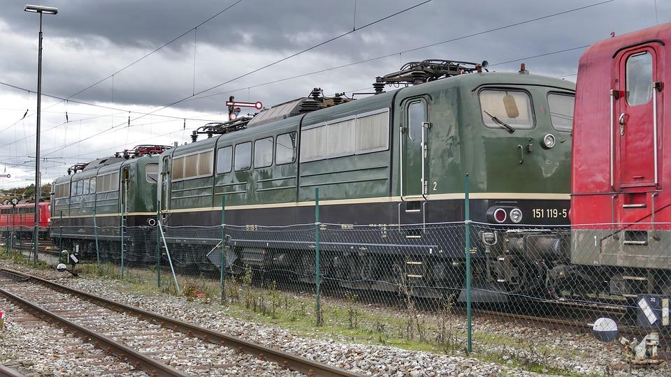 Train, Railway, Railway Station, Traffic, Locomotive