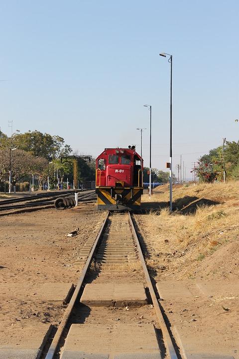 Train, Train Tracks, Zimbabwe