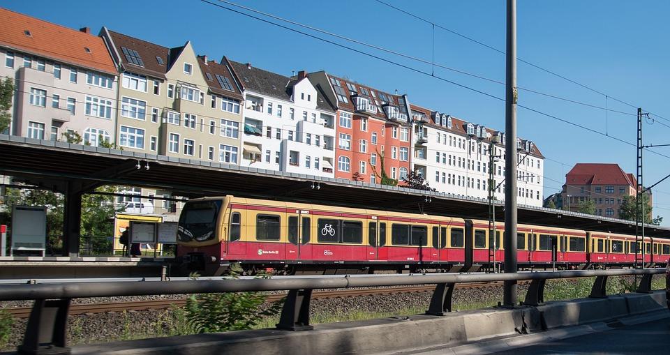 S Bahn, Berlin, Railway Station, Train, Transport