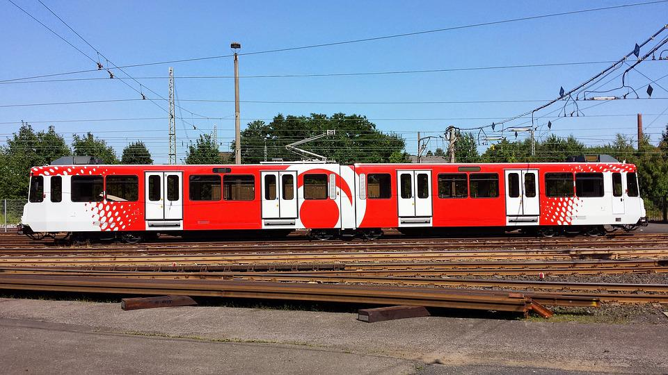 Train, Transport System, Railway