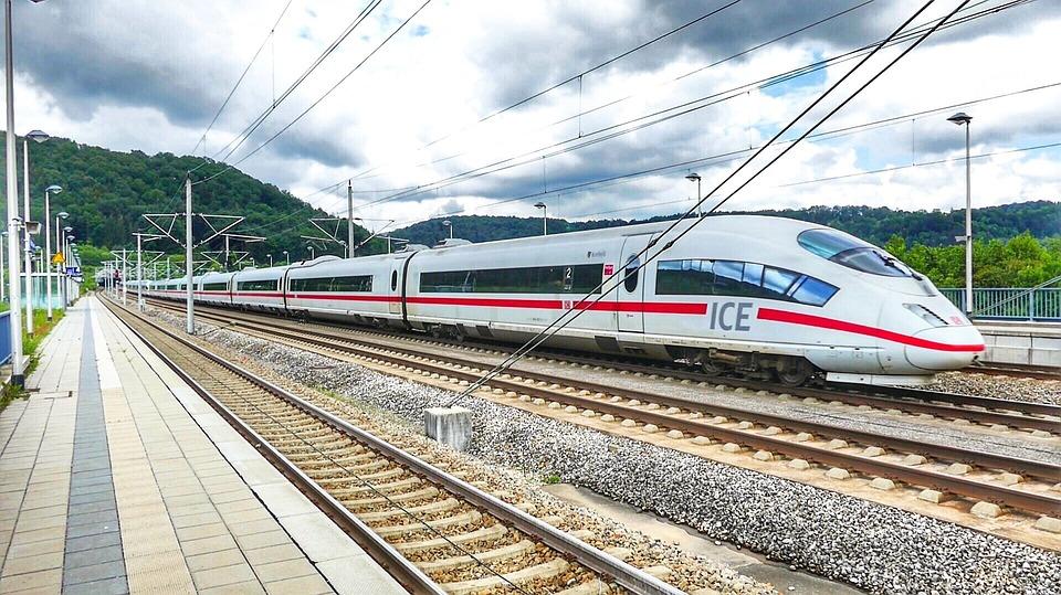 Transport System, Train, Railway, Railway Line, Ice