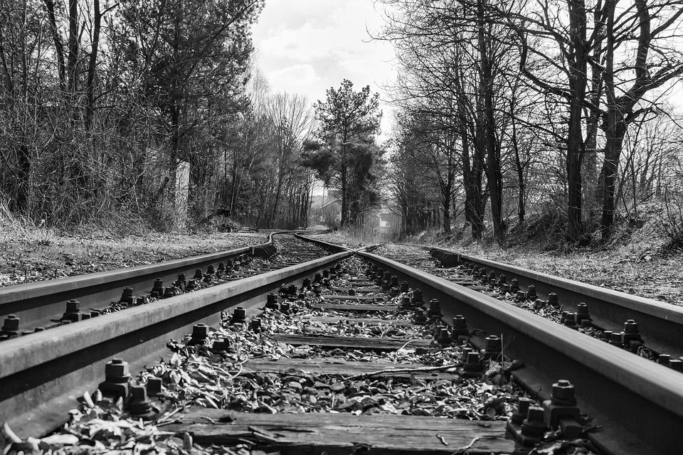 Railway, Railway Line, Train, Transport System, Fork