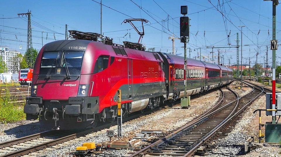 Train, Railway, Railway Line, Transport System, Station