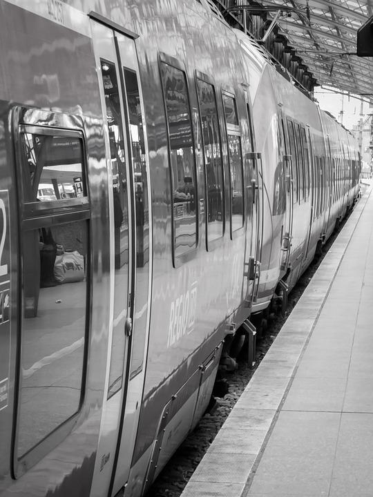 Train, Railway Station, Railway, Travel, Farewell