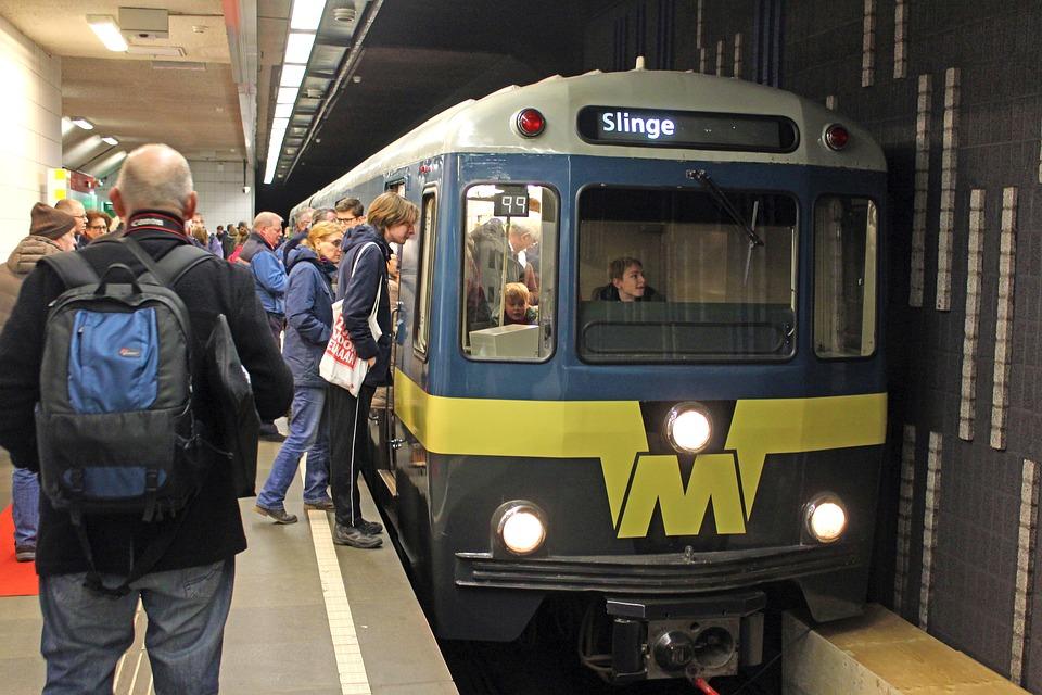 Metro, Train, Transport, Vehicle, Rotterdam