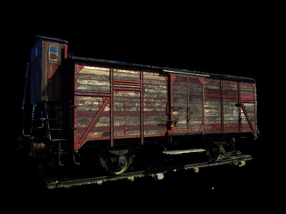 Wagon, Transport, Rail, Humans, Auschwitz, Train
