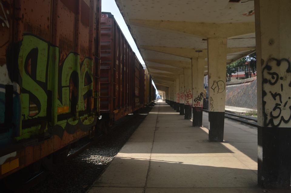 Train, Path, Wagon