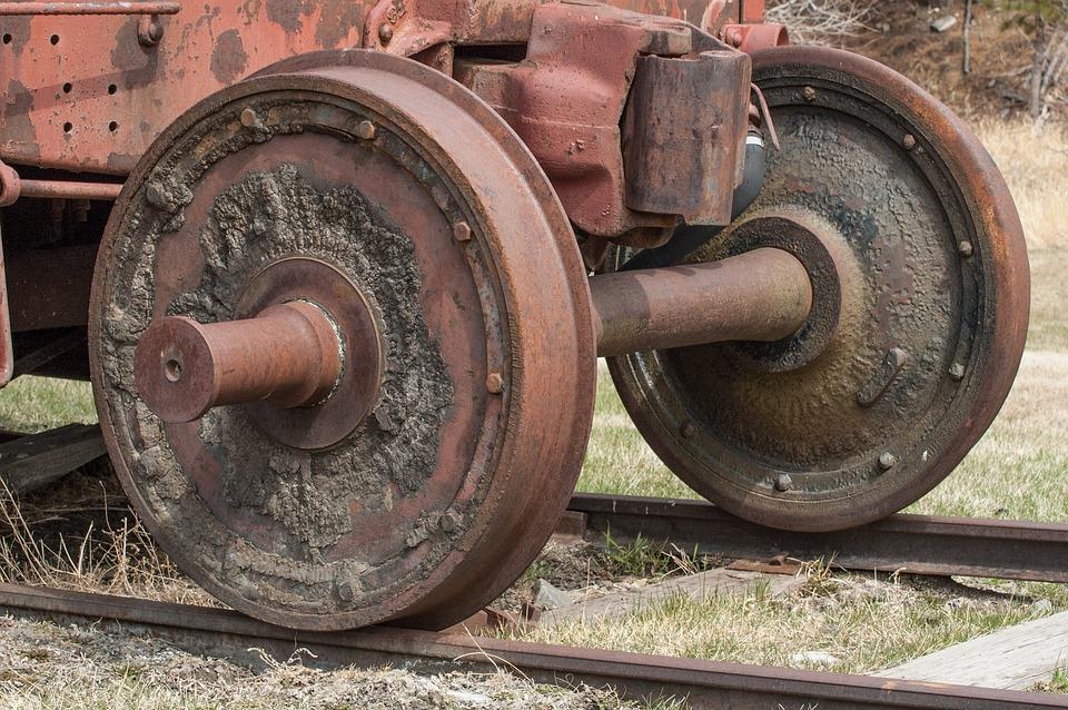 Train Wheel, Steam Train, Wheels, Train, Steam, Railway