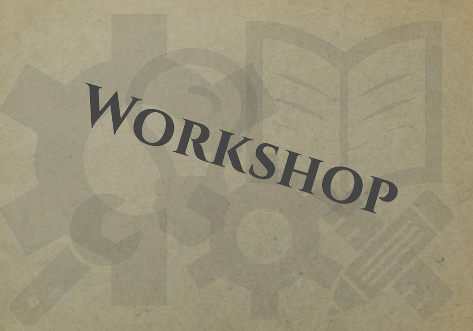 Workshop, Event, Training, Work, Learn